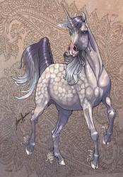 Marwari Unicorn by sighthoundlady
