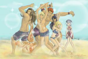 Xenoblade Squad! by ssbbgamergirl