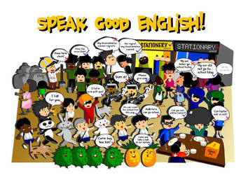 Speak Good English by Drag-az