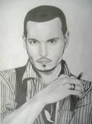 Johnny Depp by Alfuss