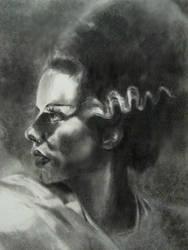 bride of frankenstein by samthedrawer