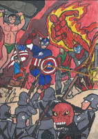 Here come the Invaders by TheZackBurg