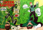 Green Lantern #59 Comparison by TheZackBurg