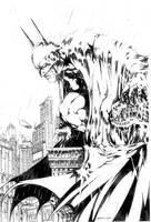 batman by harveytsketchbook