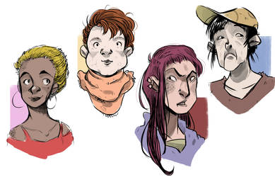 Quick faces by shy4