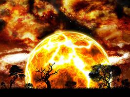 The Sun Bleeds Red by eKtOr182