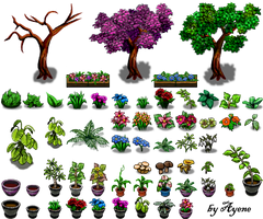 Nature Tile II RPG Maker by Ayene-chan