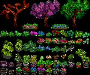 Nature Tile II RPG Maker by Ayene-chan