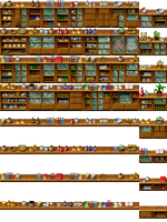RPG Maker Tile - Furniture by Ayene-chan
