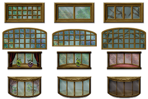 RPG Maker VX - Big Windows by Ayene-chan