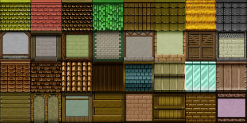 RPG Maker VX - TileA3 by Ayene-chan