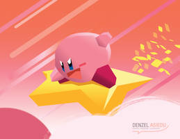 Our Lord and Savior Kirby-Sama by denzel94