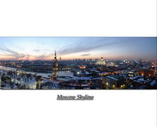 Moscow Skyline by noelholland