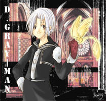 D.Gray-Man: Allen + Tim by SnakeyHoHo