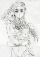 Robot Madonna and Child by Pandora-intheSKY