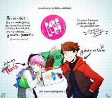 Parellet - Webcomic project by akimaro