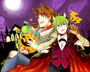 Trick or Parellet by akimaro