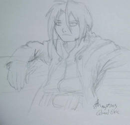 Edward Elric by EquusDraconis