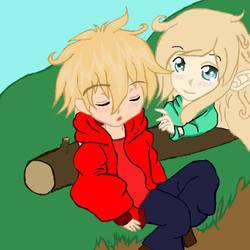 Saleen and Maddie (Lil_Red_Slime) by SaleenSundria