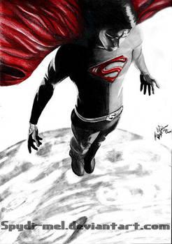 Superman by Spydi-mel