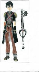 Kirito (Kingdom Hearts Attire) by Jacksonswordsman
