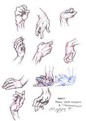 Hand Study: Visual by Sariel367