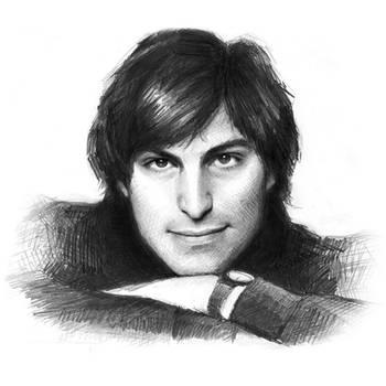 my tribute to Steve Jobs by februarymoon