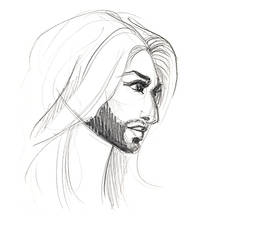 Conchita sketch by februarymoon