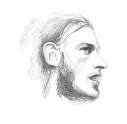 Another sketch of Joe Cocker by februarymoon