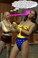Draska Hypnotizes Wonder Woman by CaptainZammo