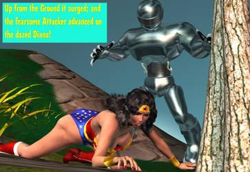 Robot 1 Wonder Woman 0 by CaptainZammo