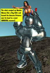 Robot2 Wonder Woman 0 by CaptainZammo