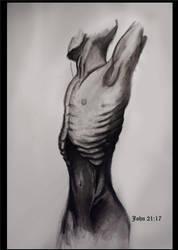 spiritual starvation by StannLeigh