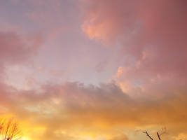 Red/Yellow sky by Altair-E-Stock