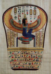 Egyptian papyrus by Altair-E-Stock