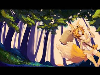 Moonlight Flower's Forest by Kero-Kero-Cola