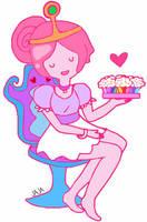 Princess Bubblegum by ariannejae