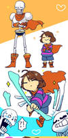Undertale  Log by kuzukago