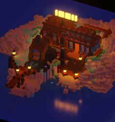 Alchemist island outpost by VanoNTP