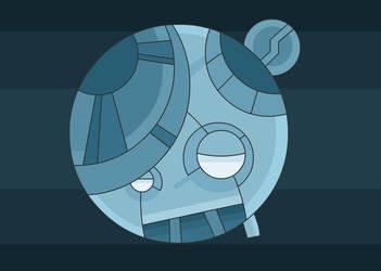 Sad cooler robo by VanoNTP