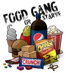 Food Gang or Starve by Formidabler