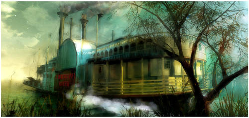 Riverboat by EhsanA