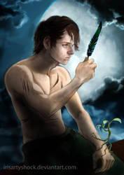 Augury or Portret of Newton Scamander by IrisArtyShock