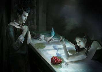 Hades And Persephone by IrisArtyShock