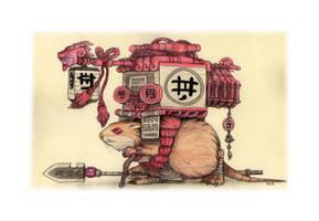Mysterious mouse by AKK-STUDIO
