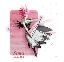 Sema the Star Girl by AKK-STUDIO