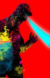 Godzilla Psychadelic by Superconvoy75