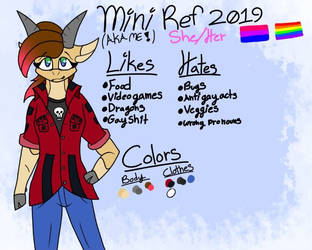 Mini Ref 2019 by FoxyTthePirateFoxGir