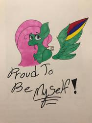 Proud to be Myself! by FoxyTthePirateFoxGir