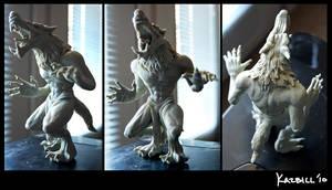 Werewolf Sculpture by Nehvah